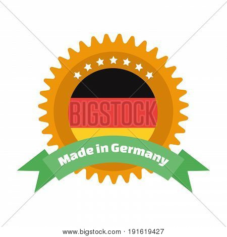 Made in Germany label or badge. Made in Germany logo