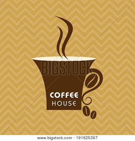 Illustration for coffee shop menu stock vector