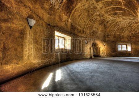 The Tunnel at Tamansari's Underground Kingdom. It is located at Jogjakarta Regency, Indonesia.