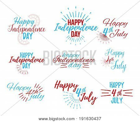 Happy 4 Th July And Independence Day Greeting Cards.