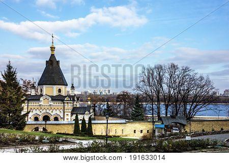 Kiev, Ukraine. Church in Pechersk Lavra Monastery