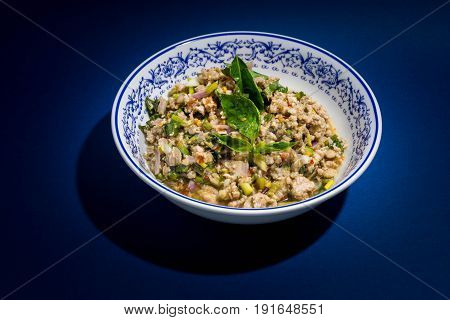 Spicy minced pork or Spicy minced pork salad