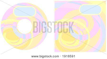 Cd Swirls Pastel