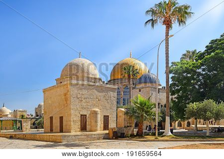 islamic shrines at the Temple Mount, Old City of Jerusalem, Israel