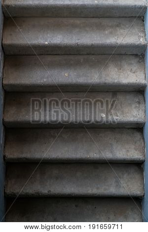 Granite stairs. Stone staircase. Stairs to the basement.