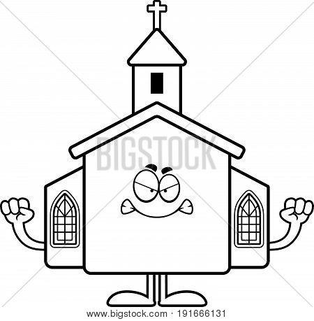 Angry Cartoon Church