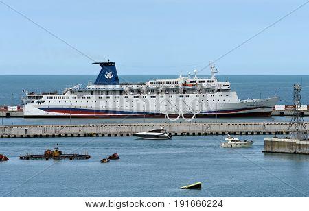18 June 2017, Sochi, Russia. Cruise ship