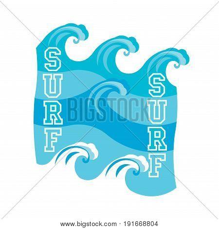 surfing Miami Beach Florida surfing t-shirt inscription typography graphic design emblem