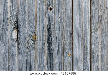 Dark Grey Vintage Planks. Vertically Arranged. Texture. Background