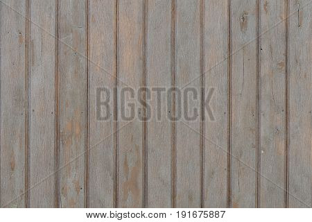 Brown Vintage Board. Vertically Arranged. Texture. Background