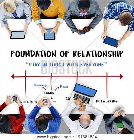 Social Digital Community Friendship