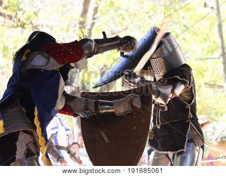 Knight tournament in Jerusalem