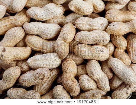 dry peanuts food ingredient for background use