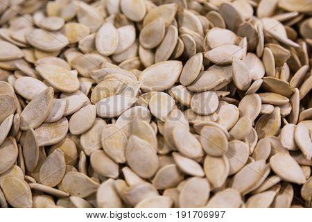 pumpkin seeds food ingredient for background use