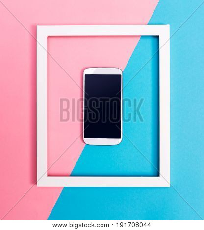 Smartphone With Frame