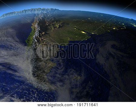 Patagonia At Night