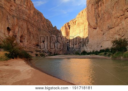 The Majestic Boquillas Canyon in Big Bend National Park, Texas