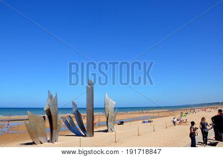 Omaha Beach, France