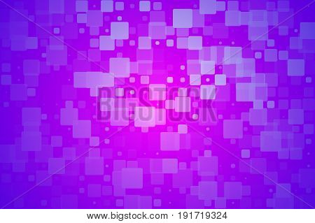 Purple Lilac Pink Glowing Various Tiles Background