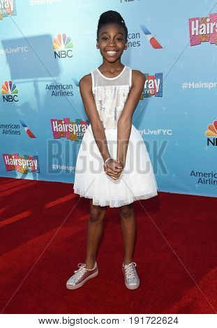 LOS ANGELES - JUN 09:  Shahadi Wright Joseph arrives for the