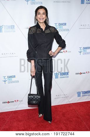 LOS ANGELES - JUN 03:  Teri Hatcher arrives for the Ante Up of Cancer on June 3, 2017 in Beverly Hills, CA