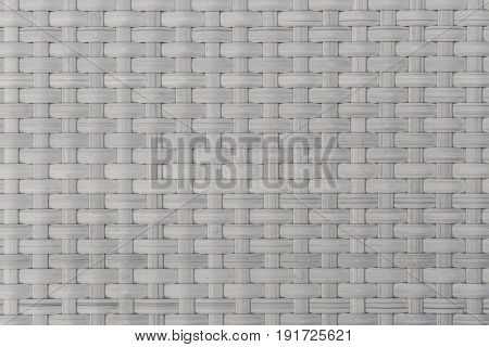 Texture Of Plastic Rattan Weaving Design For Background