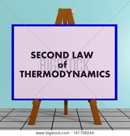 Second Law Of Thermodynamics Concept