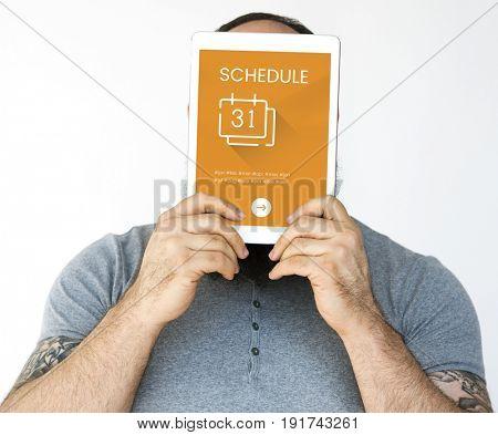Agenda Timetable Calendar Schedule Concept