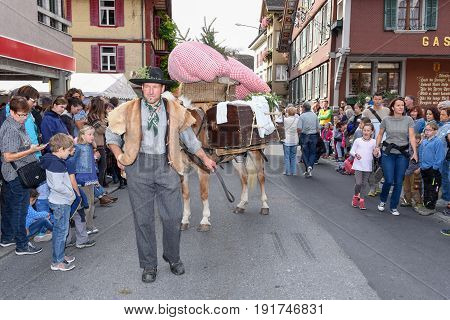 The Annual Rural Transhumance Parade Of Kerns