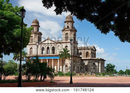 Central Square In Managua