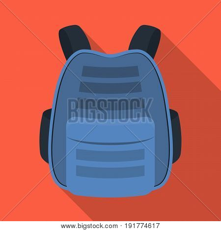 Protective waistcoat.Paintball single icon in flat style vector symbol stock illustration .