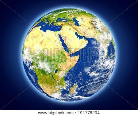 Djibouti On Planet Earth