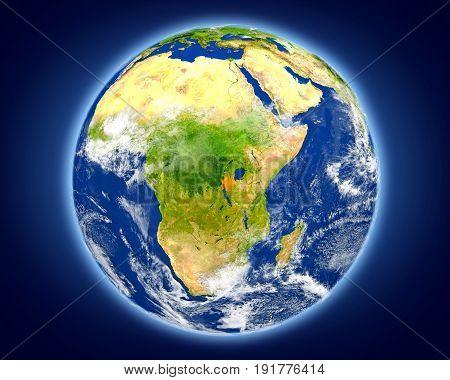 Burundi On Planet Earth