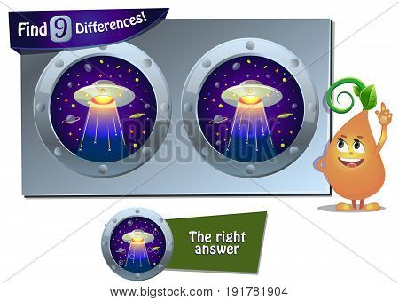 Ufo Game 9 Differences
