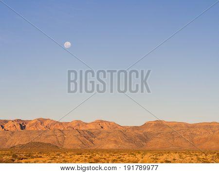 Landscape in Namib-Naukluft National Park Namibia Africa.