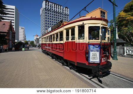 Christchurch Tram