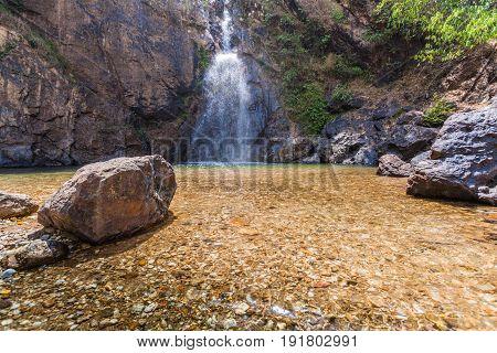 Rocks Around Jokkradin Waterfall
