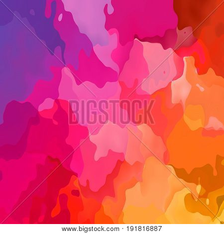 abstract stained seamless pattern texture background vibrant red pink magenta purple and orange colors - modern painting art