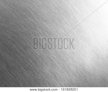 Sheet Metal Silver Solid Black