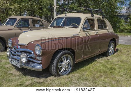Rostov-on-Don Russia - May 212017: Car GAZ-M20
