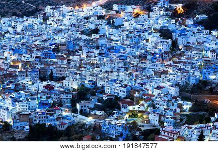 Medina Of Chefchaouen City In Morocco, Africa