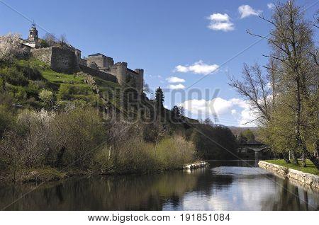 Medieval Town Of Puebla De Sanabria, Zamora Province, Castilla Y Leon, Spain
