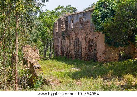 Nossa Senhor Do Loreto Convent Ruins In Santiago Do Cacem
