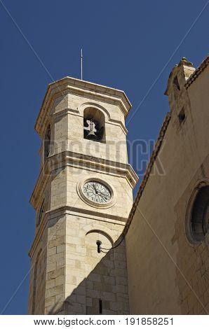 Santa Maria Magdalena In Villafranca Del Cid, Maestrazgo, Castellon Province, Valencian Community, S