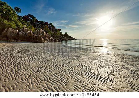 Beautiful tropical beach. Thailand poster