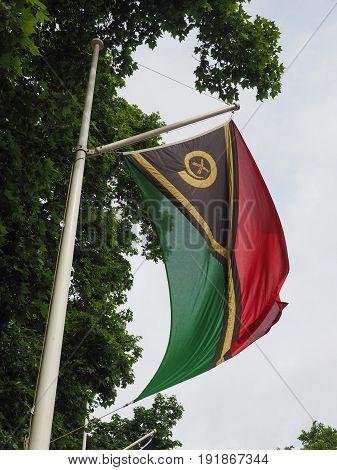 Vanatuan Flag Of Vanuatu