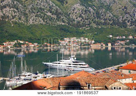 Kotor Fjord in Montenegro, Europe