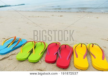 Summer Holiday At Beach