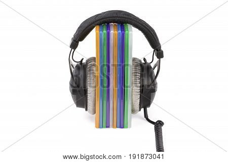 Boxes Cd / Dvd With Headphones