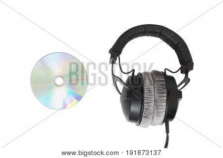 Headphones With Multimedia Cd / Dvd